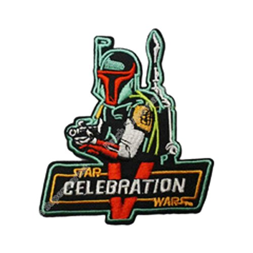 J&C Family Owned Cosplay Application New Star Wars Boba Fett Generation 5 Applique Patch