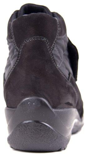 Waldläufer, 574903-611-001, bottines klettver. base (noir/noir)