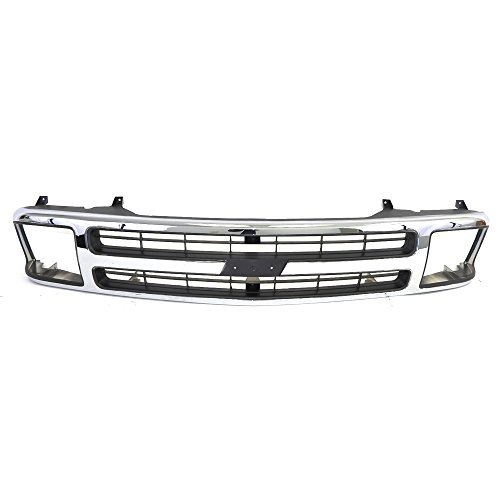 - Titanium Plus Autoparts, 1994-1997 Fits For Chevrolet S10 | 1995-1997 Chevrolet Blazer GRILLE COMPOSITE TYPE
