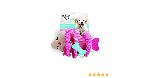 ALL FOR PAWS Little Buddy Crinkly Lelesea Dog Toy Pink 2.5 kg