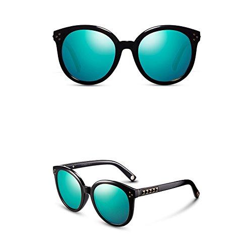 polarisées lunettes A femmes rondes Lunettes hommes de soleil conduite de protection de lunettes mode rondes soleil soleil de de de UV lunettes Lunettes soleil de et de lunettes soleil Grandes wEA8XqCTT