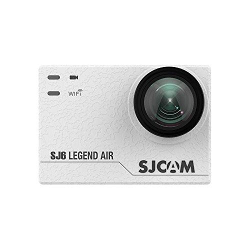 SJCAM SJ6 AIR Sports Action Helmet Camera 1080P 24FPS Sports DV Camera Waterproof Action Camera, White Action Cameras SJCAM