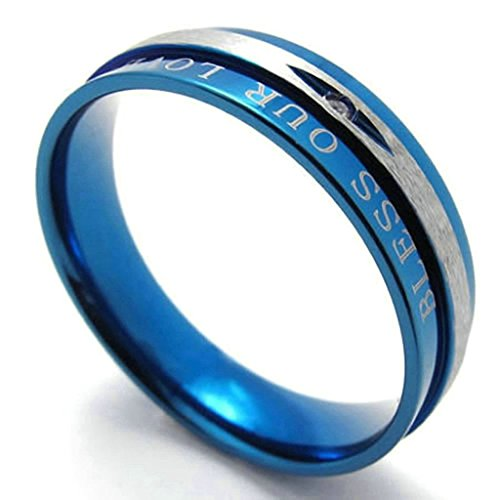 daesar-stainless-steel-rings-mens-wedding-bands-blue-rings-cz-bless-our-love-love-ring-size8