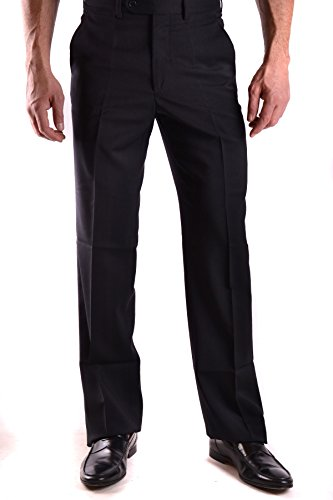 Clothing Mens Gianfranco Ferre (GIANFRANCO FERRÉ Men's Mcbi136014o Black Wool Pants)