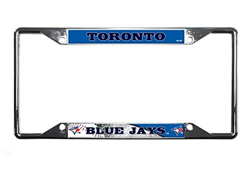 Rico Industries MLB Toronto Blue Jays License Plate Frame, One Size, Team Color