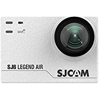 SJCAM SJ6 AIR Sports Action Helmet Camera 1080P 24FPS Sports DV Camera Waterproof Action Camera, White