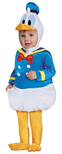Donald Duck Toddler Prestige Costumes (Prestige Donald Duck Costume - Baby 12-18)