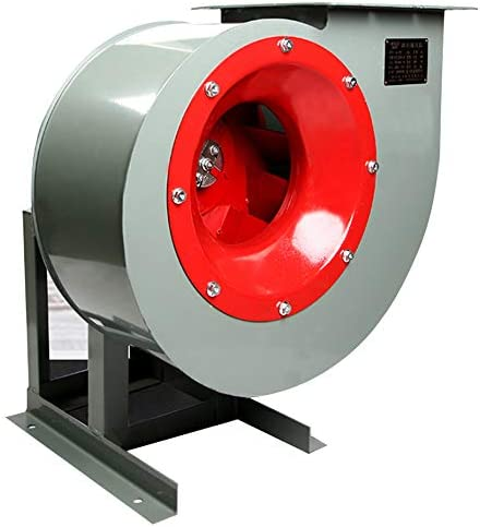 Blower Wmarking UK Soplador de Acero al Carbono con turbina de alas múltiples, Ventilador Industrial de Ahorro de energía con Motor de Cobre, Barbacoa, Cocina, fábrica, Taller, Gran Lugar público
