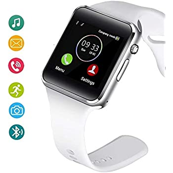 Amazon.com: Wzpiss Smart Watch Bluetooth Smartwatch ...