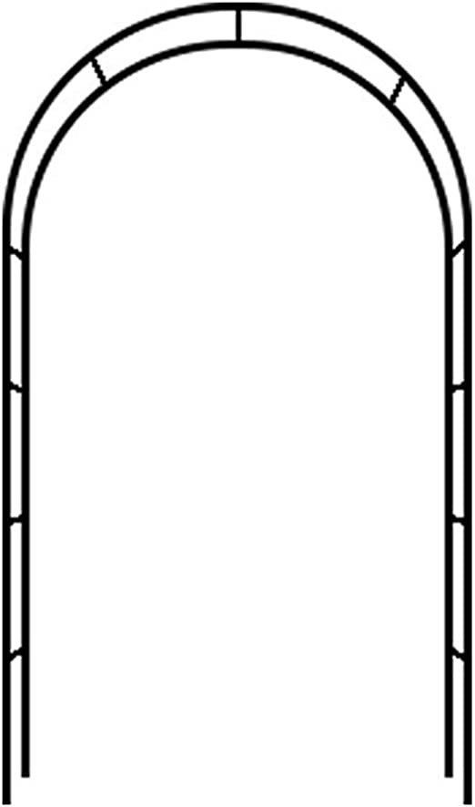 Flashing lights Garden Arch Wedding Arch Flower Stand, Arco De Metal De Entrada Al Aire Libre para Plantas Trepadoras Rosas, Decoración De Bodas, Decoración De Pérgola De Jardín, Autoensamblaje: Amazon.es: Hogar