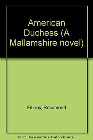 book cover of The American Duchess