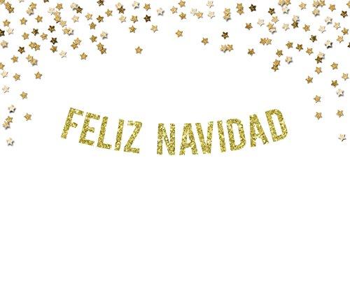 Feliz Navidad Party Banner | christmas decorations | seasonal decor | bunting | holiday garland |