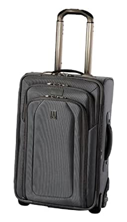 Travelpro Luggage Crew 9 22-Inch Expandable Rollaboard Suiter Bag, Titanium, One Size