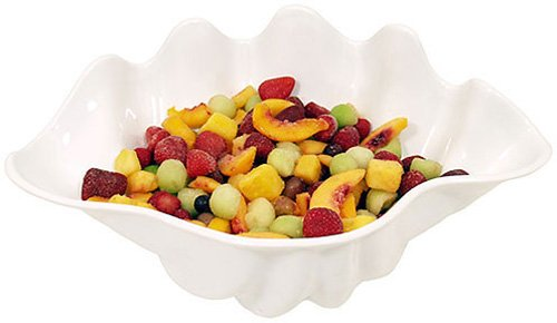Update International (SSB-5W) 5 qt Shell Salad Bowl