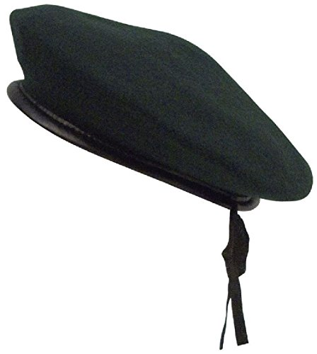 Military Wool Monty Beret - Green Style Military Army Wool Monty Beret Hat