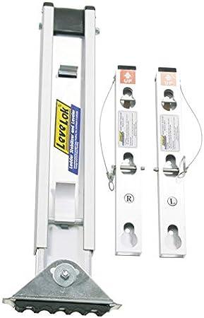 Werner - Escalera de aluminio plateado (1 unidad): Amazon.es: Bricolaje y herramientas