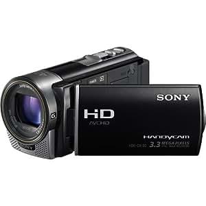 Sony HDR-CX130E/B - PAL - Full HD Memory Card Camcorder, Black