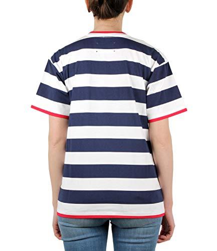 Bianco T Donna J07050192 Ferretti shirt Alberta blu xCpUqw00n6