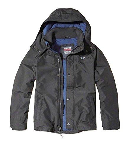hollister-mens-fleece-lined-all-weather-jacket-black-medium