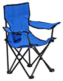 Quik Chair Folding Camp Chair for Kids with Carry Bag, Pink