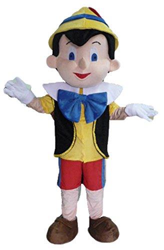 Aris Cartoon Character Pinocchio Mascot Costume Party Mascot Outfits -