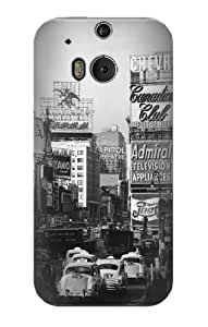 S0182 Old New York Vintage Case Cover for HTC ONE M8 by icecream design