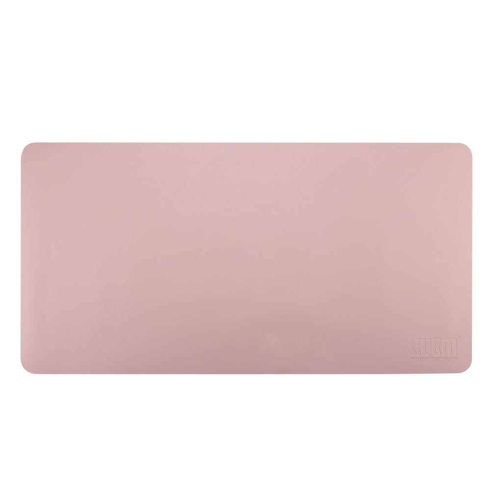 Desk Pad Mouse Pad/Mat - BUBM Large Gaming Mouse Pad Desktop Pad Protector PU Leather Laptop pad for Office and Home,Waterproof and Smooth,2 Year Warranty(35.4'' 17.7'', Pink+Silver) by BUBM (Image #8)