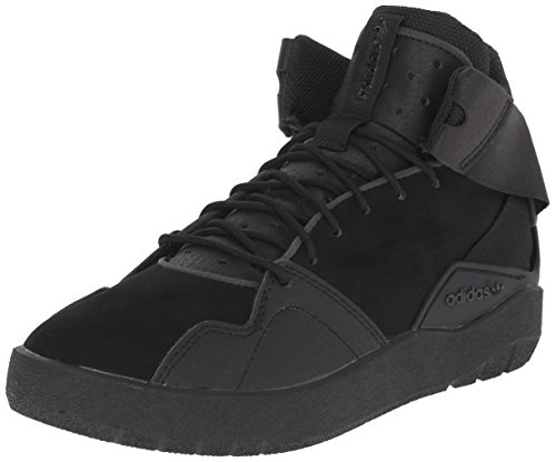 adidas Originals Crestwood Mid J Shoe (Big Kid),Black/Black/Black,5.5 M US Big Kid