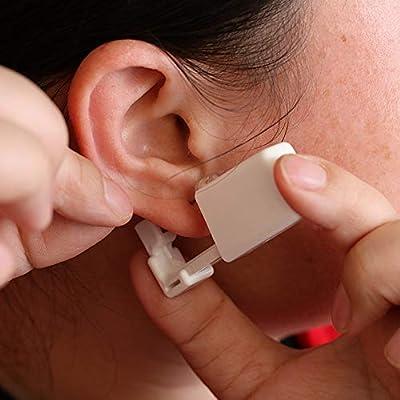 Trrut Disposable Safety Sterile Ear Piercing Gun Unit Tool With Ear Stud Asepsis Pierce Kit …