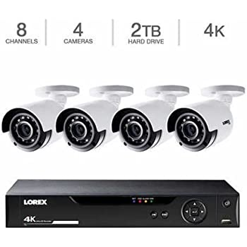 Amazon Com Lorex 100 Wire Free Security System 6