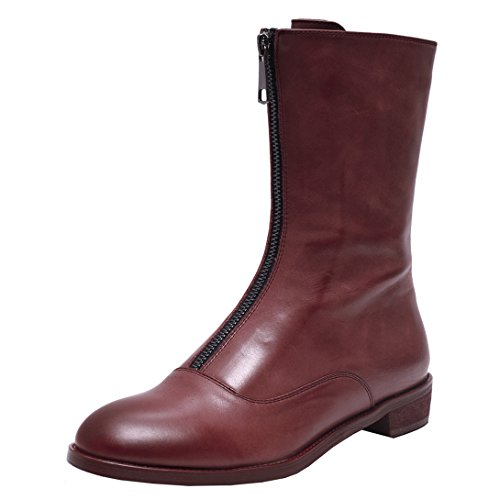 Nine SevenMid-calf Boots - Botas mujer Red