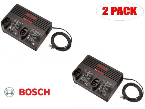 Bosch BC230 7.2v Thru 24v 30 Min Dual Bay Charger # 2607225069 (2 PACK)