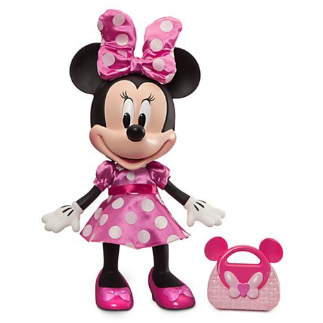Disney Minnie Mouse Talking Fashion Toddler Doll - 13 Tall (Talking Doll Plastic)