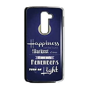 Harry Potter quotes LG G2 Cell Phone Case Black SAS