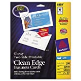AVE8859 - Avery Two-Sided Clean Edge Business Cards