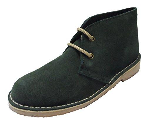 Roamers L777CS Ladies Desert Boots Denim Blue Green HeAErj