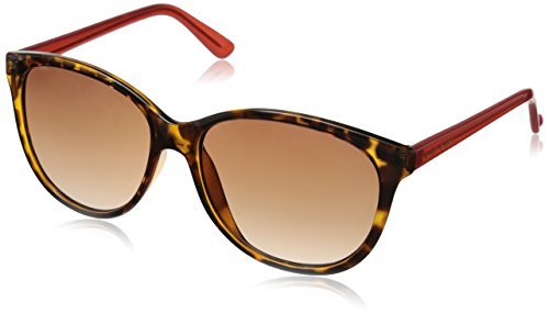 Betsey Johnson Women's Chloe Cateye Sunglasses, Tortoise, 57 - Betsy Sunglasses Johnson
