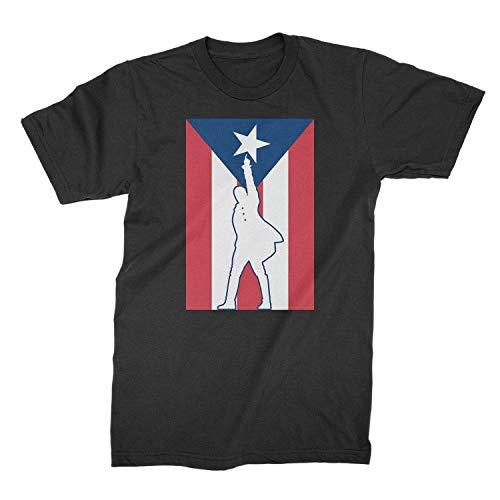 Hamilton Puerto Rico Tshirt Immigrants We Get The Job Done Shirt Black (Hamilton Immigrants We Get The Job Done)