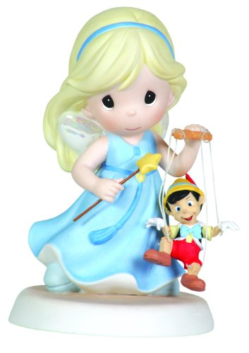 Precious Moments, Disney Showcase Collection, Your Love Brings Out The Good In Me, Bisque Porcelain Figurine, 111021
