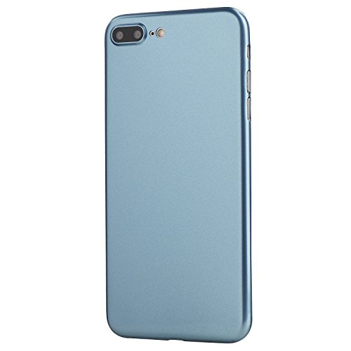 - totallee iPhone 7 Plus Case, Thinnest Cover Premium Ultra Thin Light Slim Minimal Anti-Scratch Protective - for Apple iPhone 7 Plus Special Edition (Coral Blue)