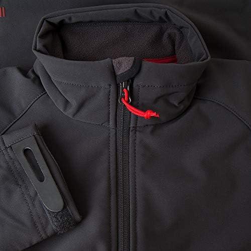 Gill Womens Team Softshell Coat Jacket Mantel Silber - Leichtgewicht. Wasserdicht und atmungsaktiv - Warmes Fleece gefüttert