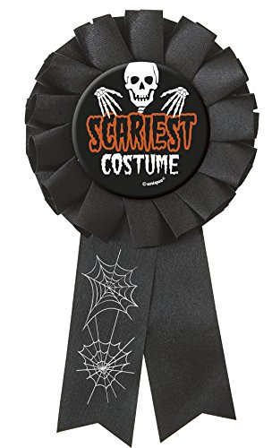 [Scariest Costume Halloween Award Ribbon] (Halloween Online Games)