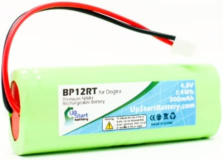 Dogtra 1200 NCP Battery – Replacement for Dogtra BP12RT Dog Training Collar Receiver Battery 300mAh, 4.8V, NI-MH