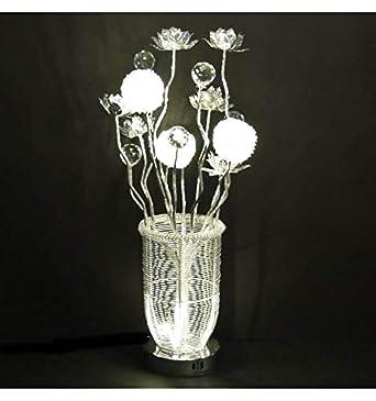 Vase Aluminium Yoshi Led Lampe SoldesKosilum Ip20 Fleurs En uXiTPZOk
