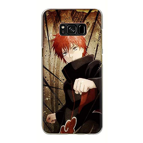 Anime Naruto Akatsuki Design Hard Phone Case for Samsung Galaxy S8 S9 S10 Plus S10e Note 8 9 (4, S9) (Naruto Phone Case Note 4)