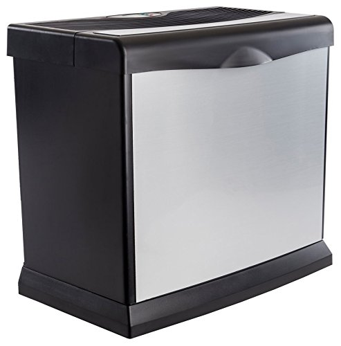 AIRCARE HD1409 Digital Whole-House Console-Style Evaporative Humidifier, Brushed Nickel - Open Sink Chest