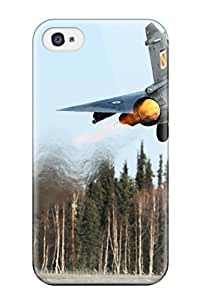 High-quality Durable Protection Case For Iphone 4/4s(french Dassault M2000 Mirage)