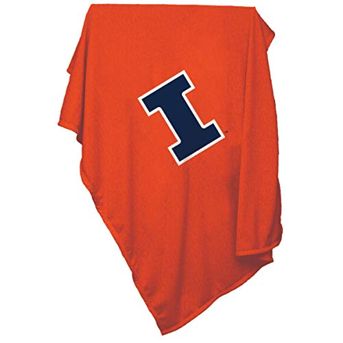 Illinois Fighting Illini Sweatshirt blanket (Fighting Illini Blanket)