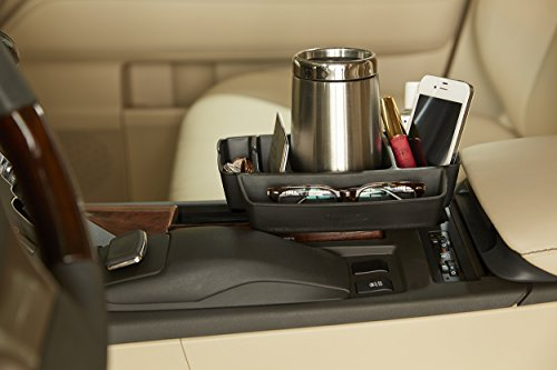 Rubbermaid 3315-20 Automotive Cup Holder Car Storage Organizer Caddy, - Front Deluxe Organizer