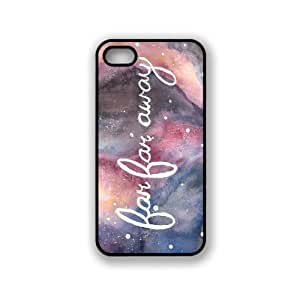 Far Far Away Galaxy Hipster Quote iphone 4 Cover Iphone 4s Case Fits iphone 4...